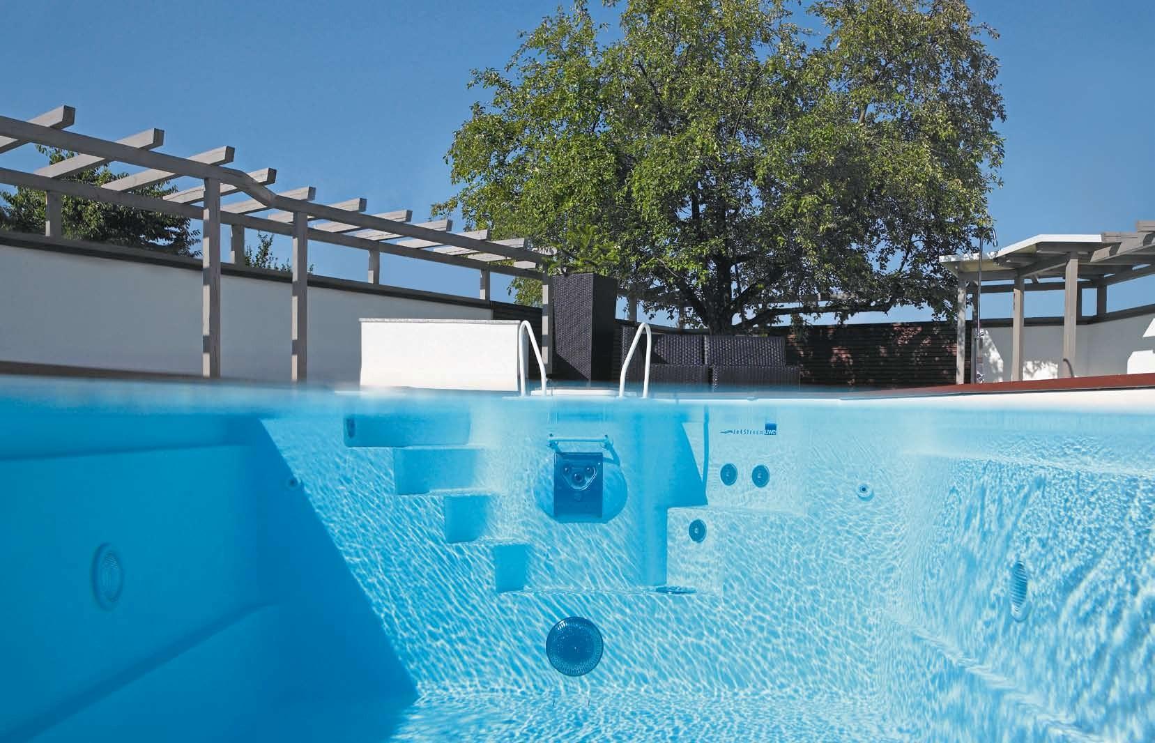 scara piscina inot contracurent constructie piscina fitness